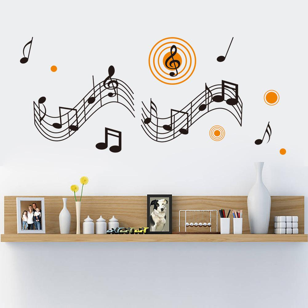 New Childrens Room Classroom Music Background Queen Living Backdrop Stickers Carved Behalf Generation