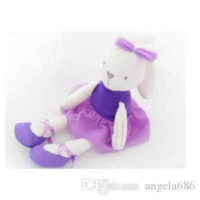 2017 nouvelle arrivée en gros-kawaii 42cm grande peluche lapin lapin jouet bébé fille enfant à vendre