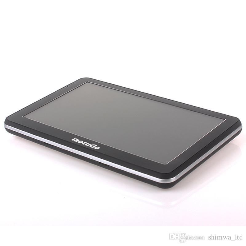 Ücretsiz kargo RAM 256 M ROM 8G MTK2531 araba GPS navigator 800 MHz ile FM çekinme 6 teklif yeni haritalar destek toptan