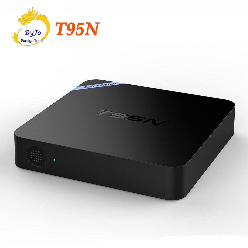 T95N Mini M8S Pro Android 6 0 TV Box S905X Quad Core Wifi 1G 8G or 2G 8G  Memory Smart Set top Box