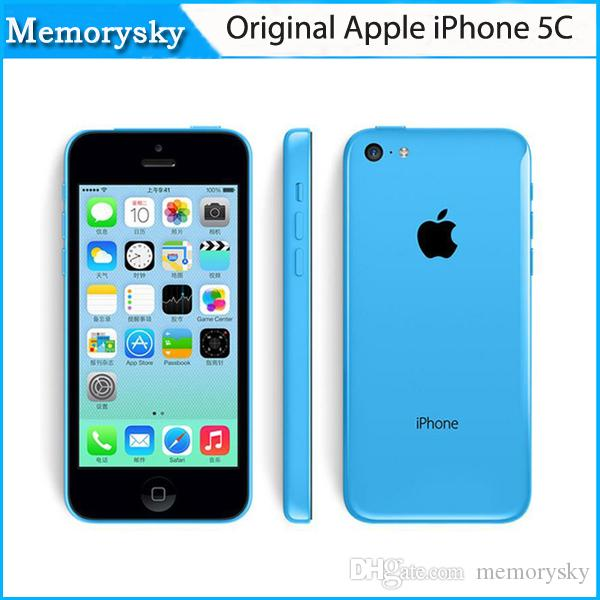 Original Apple iPhone 5C Unlocked Mobile Phone 16 Go 32 Go Dual-Core IOS 8 Retina 4.0