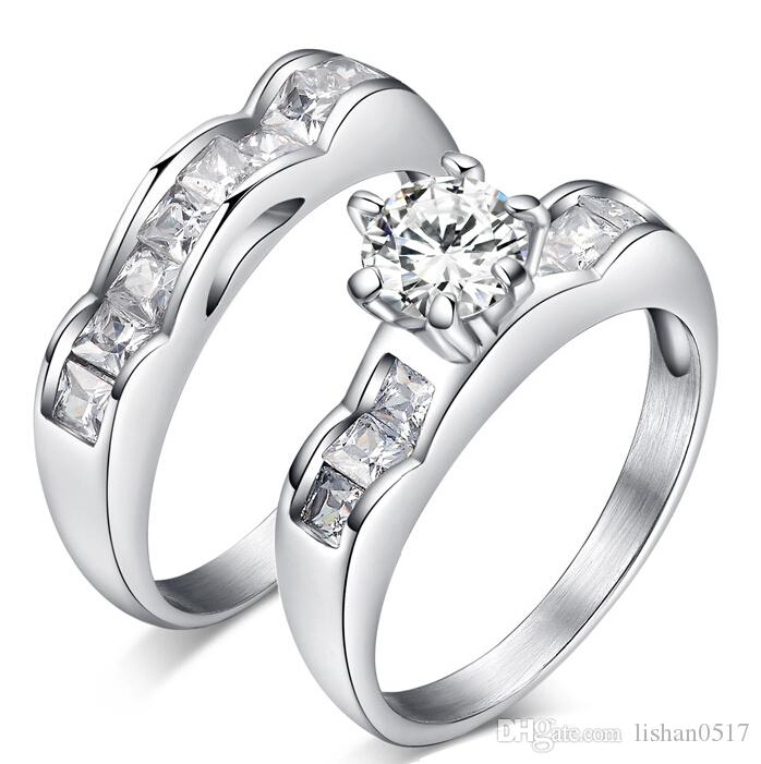 2017 New 1 Ct Women S Wedding Rings Claw Set Eight Heart Eight