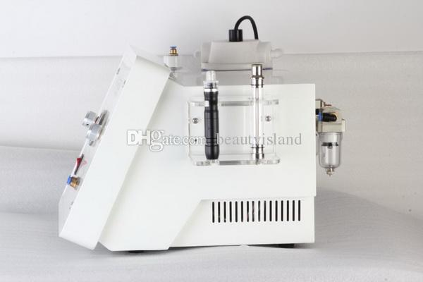 2 in 1 crystal and diamond hydra microdermabrasion machine water peeling facial treatment