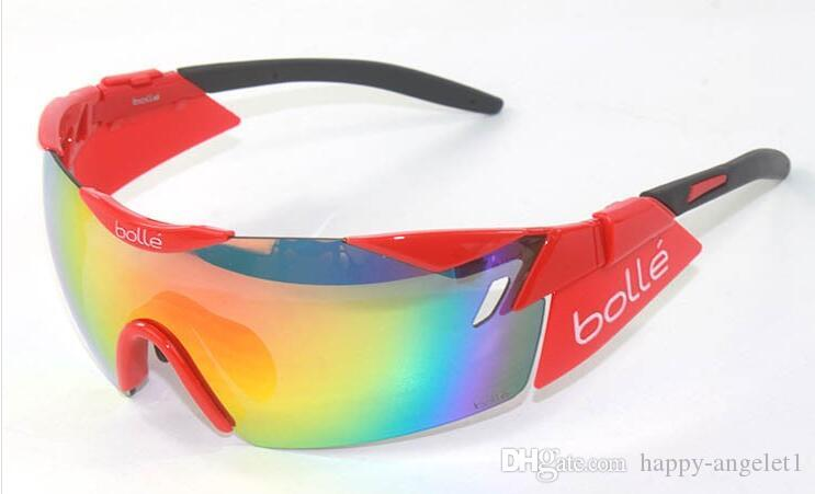 2016 Unisex Imported Italy BOLLE 6th sense 11840 professional outdoor cycling mountain climbing Hd golf sunglasses on foot