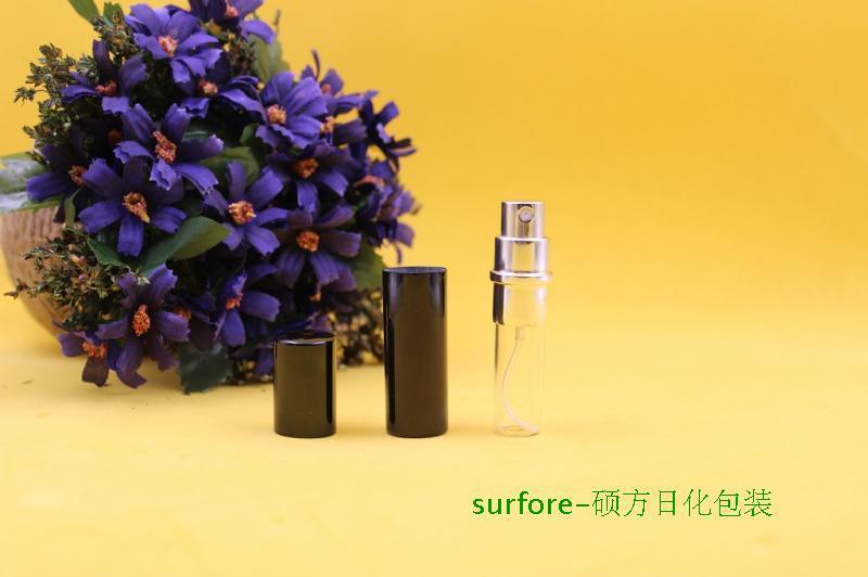 2015 Yeni Satış Mini Taşınabilir Seyahat Doldurulabilir Parfüm Atomizer Şişesi Sprey Koku Pompa Kılıf 5 ML Boş