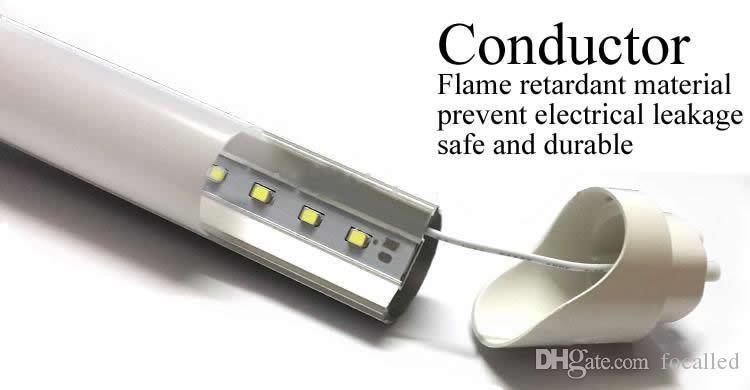 High brightness 4FT T8 Led Tube Light 20w 22w 2000lm Led lighting Fluorescent Tube Lamp 1.2m led tubes + 3 Years Warranty UL CE SAA