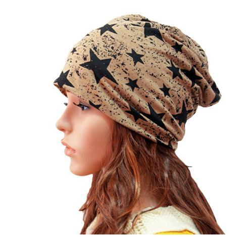 nouveau bonnets de coton chapeaux chauds d'hiver pour les femmes mode coréenne deux utilise bonnet de tricot lettre multifonction bonnets tricotés unisexe sans logo