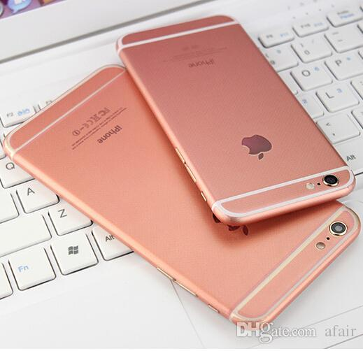 Newest Luxury Rose Gold Full Body Sticker Screen Protector Color Film Cell  Phone Skin Back Cover For Iphone 6 6S Plus Cell Phone Protectors Glass  Phone ... 26de9631b702