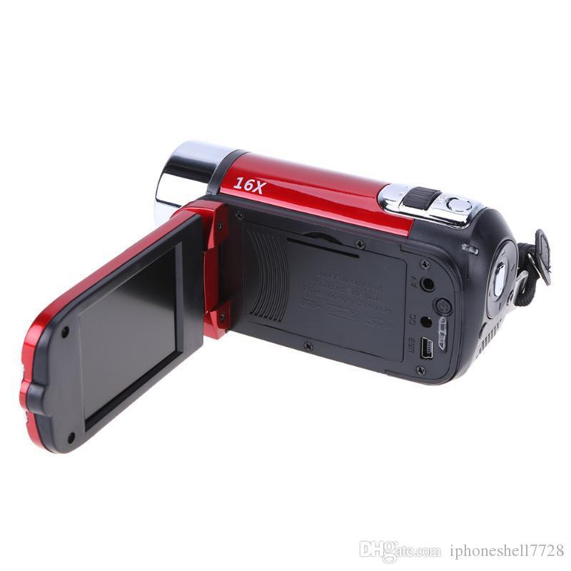 ALLOYSEED Caméra vidéo numérique 22MP Full HD 1080P 32GB Zoom 16x Zoom Caméscope DV Caméra WiFi 3.0