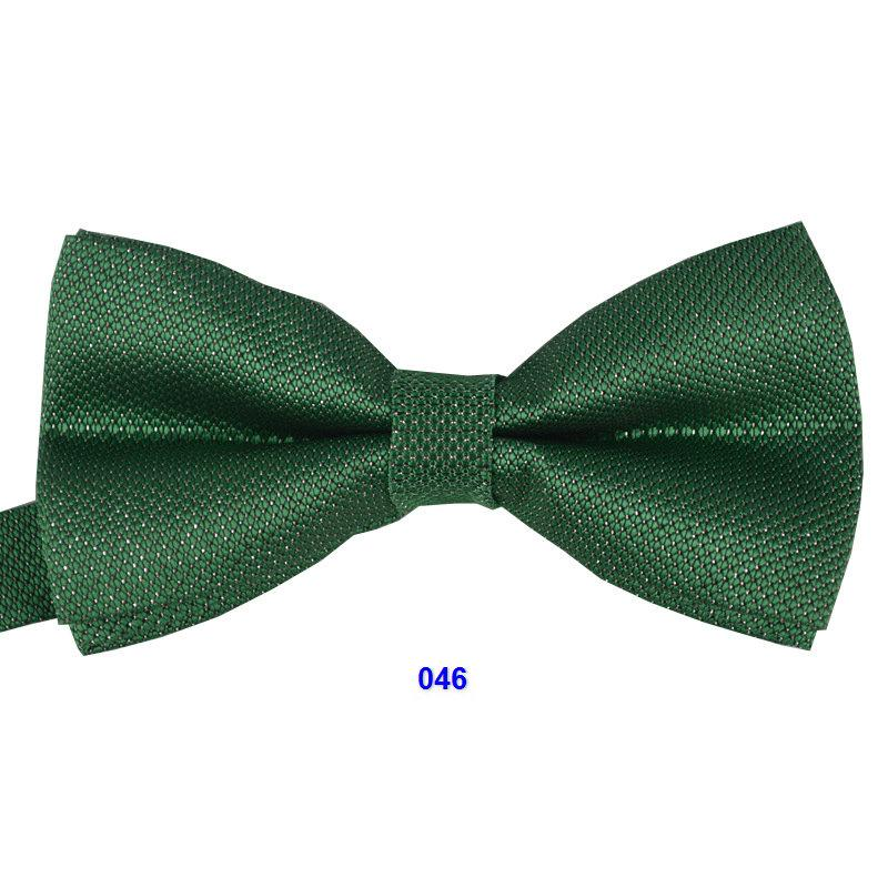 silver Mens bow tie plaid Adjustable adult butterfly evening party Decorated Neckwear