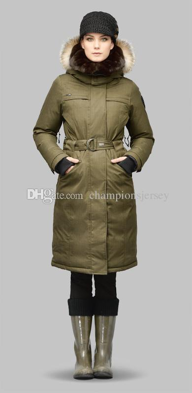 WOMENS LONG DOWN JACKETS NOBIS SHE-RA LADIES EXTREME X-LONG PARKA ...