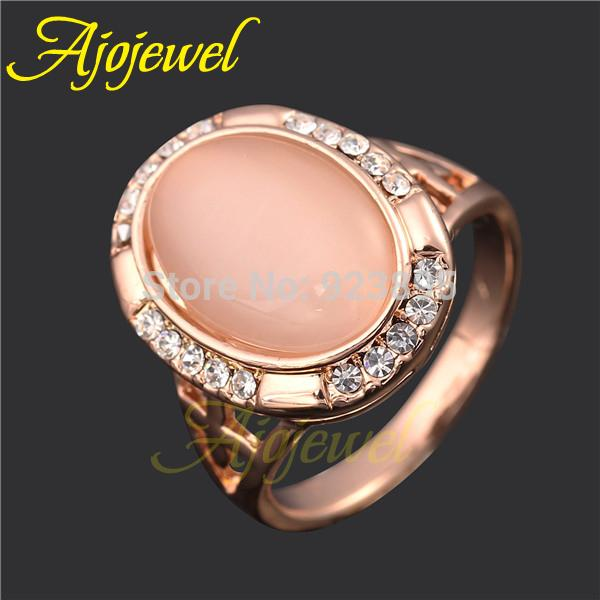 2018 Size7 8 Latest Designer Ring Jewelry 18k Rose Gold Plated
