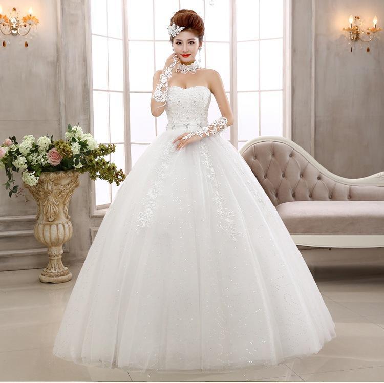 Romantic Sexy Lace Vintage Wedding Dress Maternity Wedding Dress ...