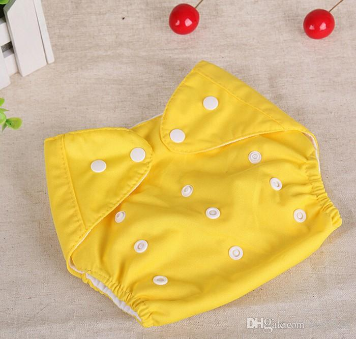 Baby Changing & Nappies Bright New Babywindel Nappy Reusable Size Adjustable With Buttons Red Child