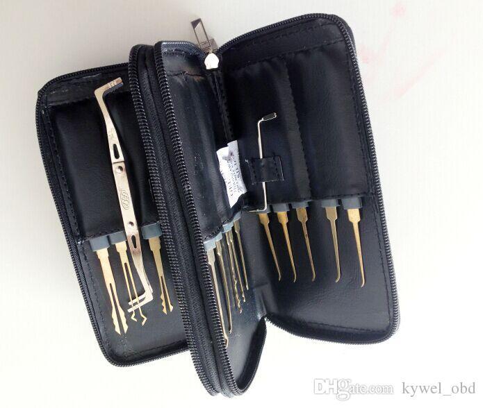 أدوات الأقفال الساخنة goso 20 قطع قفل أدوات اختيار، قفل منزل اختيار أداة