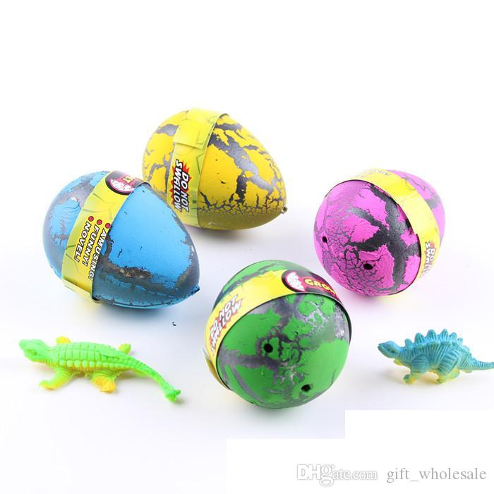 /box Large Easter Egg dinosaur eggs dinosaur Easter Egg variety of animals eggs can hatch out animals creative toys 6.5*5cm