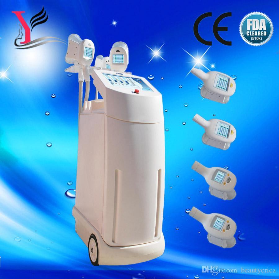 dce013fcedf61 Half Price Promotion 4 Cryo Handle Super Cryo Slimming Machine ...