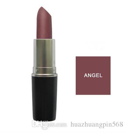 Brand MATTE Lipstick ANGEL VELVET TEDDY HONEYLOVE RUSSIAN RED satin REBEL Retro Matte Lipstick 3g