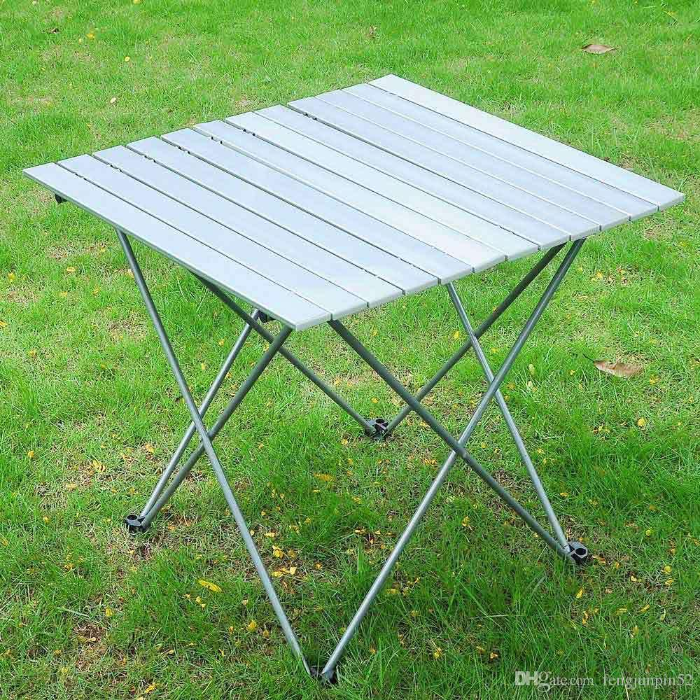 2018 Aluminum Roll Up Table Folding Camping Outdoor Indoor Picnic W/ Bag  Heavy Duty From Fengjunpin52, $30.16   Dhgate.Com