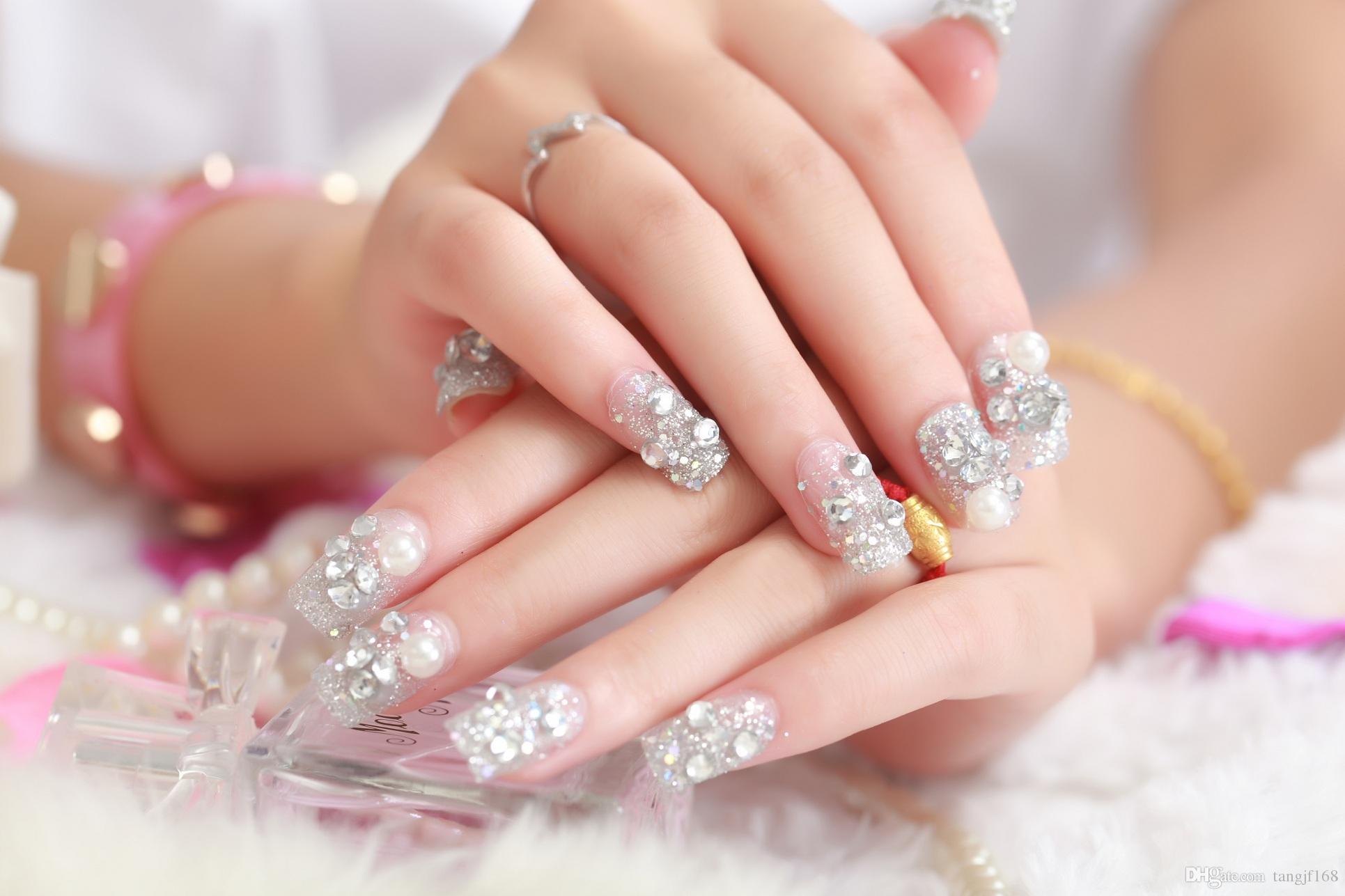 how to make fake nails shorter