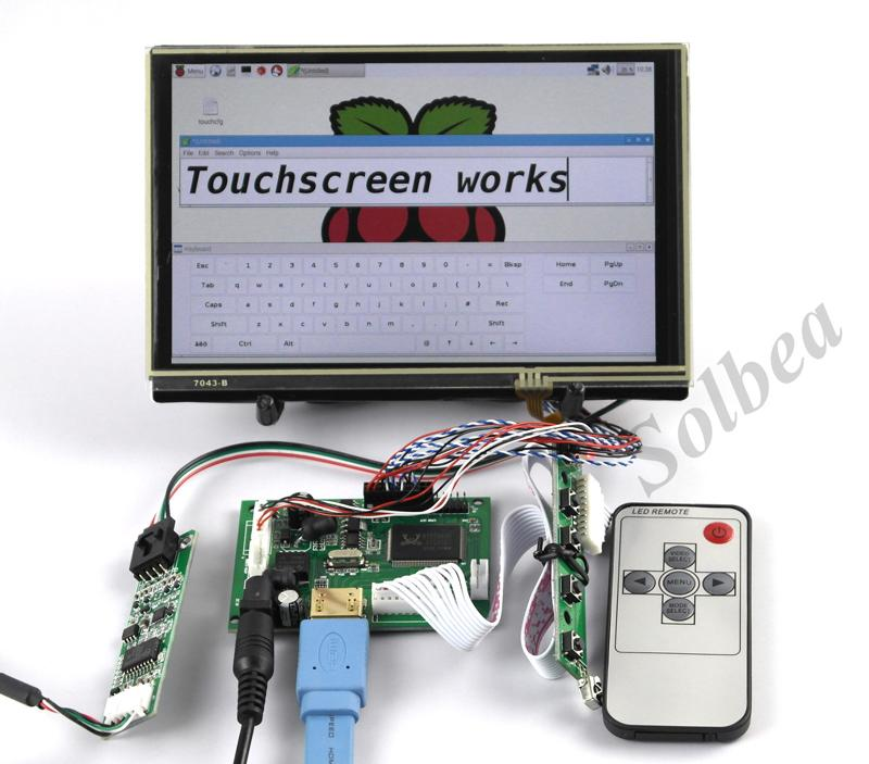 HDMI LCD Display Treiber Controller Board 7