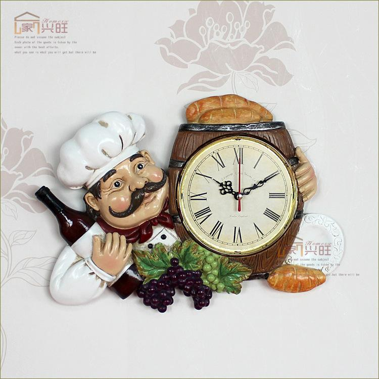 Good Kitchen Clocks Personalized Restaurant Resin Vintage Wall Clock Large  Office Wall Clocks Large Outdoor Clocks For Walls From Brandproducts,  $128.65| Dhgate.