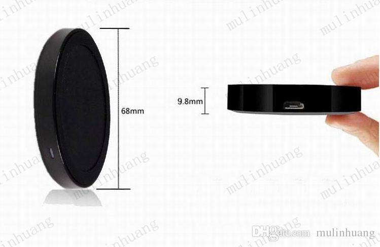 S6 Qi Q5 Wireless Charger Cell phone Mini Charge Pad For Qi-abled device Samsung Galaxy S3 S4 S5 S6 Note2/3/4 Nokia HTC LG Iphone phone MQ50