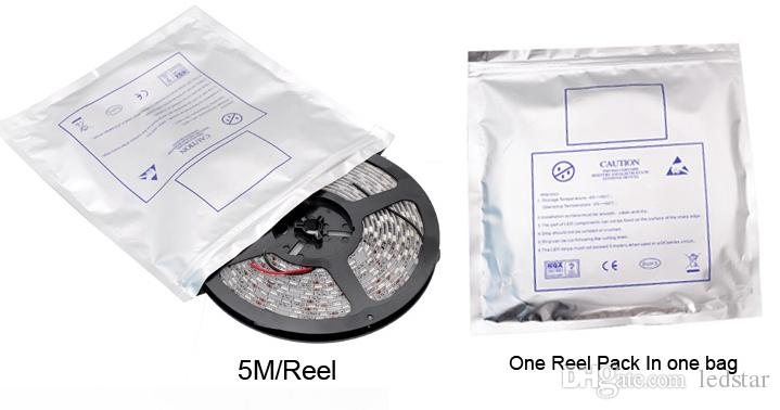 24 V LED Light Light elastyczny Taśma Światła 60LEDS / M 5M 300EDS SMD 5050 RGB LED Line Lights 5m / Reel Waterproof
