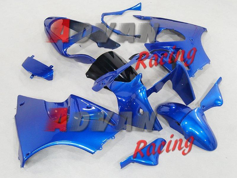 Injection molding custom painted fairing Kawasaki Kawasaki Ninja ZX6R 2000-2002