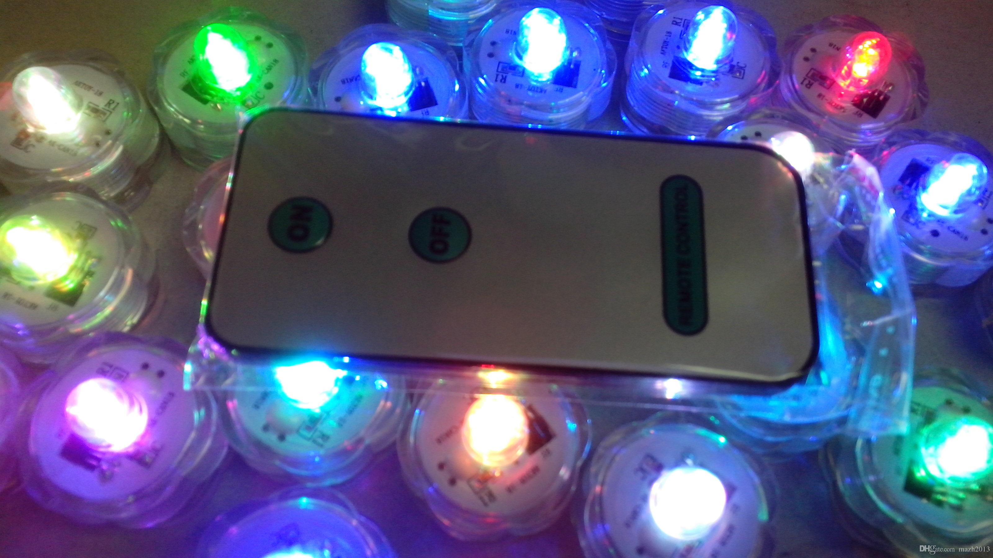 2019 Sxi 2 Cr2032 Battery Operated Remote Control Colour Changing