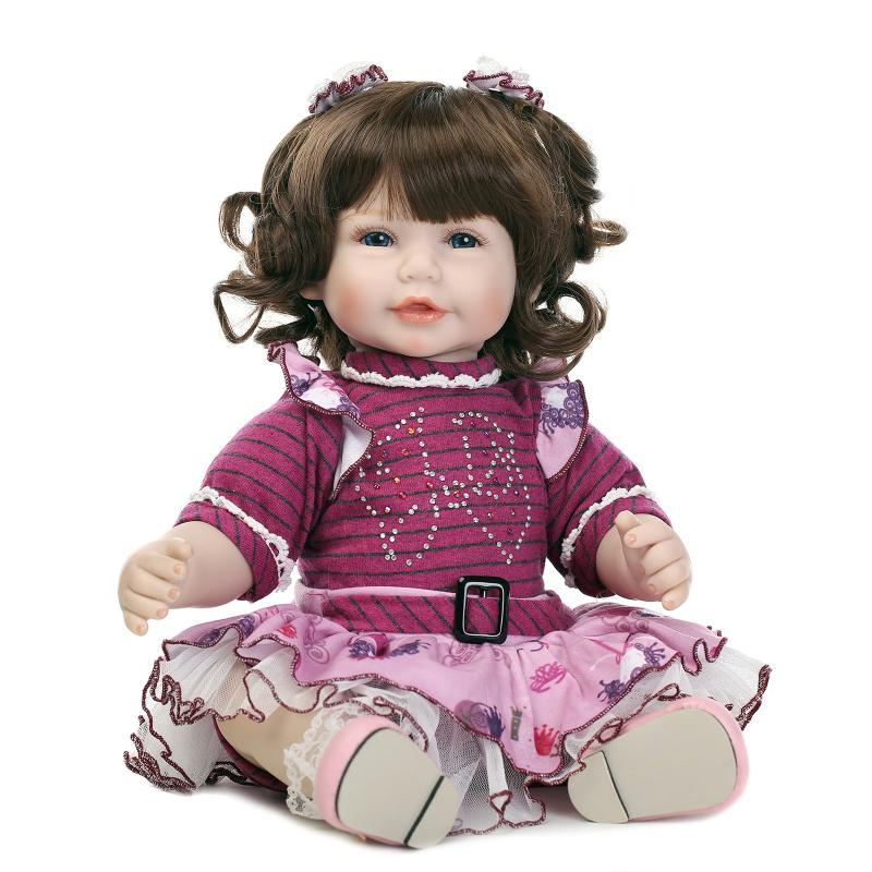 20 52cm Silicone Reborn Baby Dolls Real Look Baby Alive