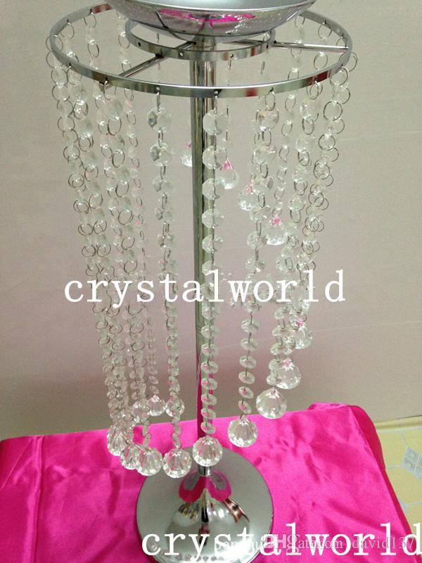 Kryształowy stół żyrandolowy TOP / Tabela ślubu Żyrandol / Kryształ do środka ślubu / Tabela Centerpiece / Crystal Dekoracyjne