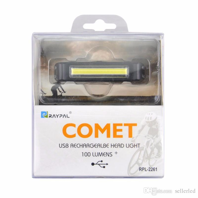 2018 Brightness Comet Cob Led Bike Lights Usb Rechargeable Bicycle