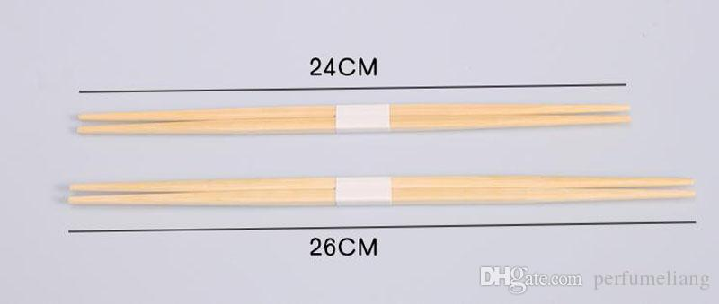 Japan Style Bamboo Sushi Chopsticks Natural Disposable Two Pointy Tableware Dinning Set For Restaurant ZA5359