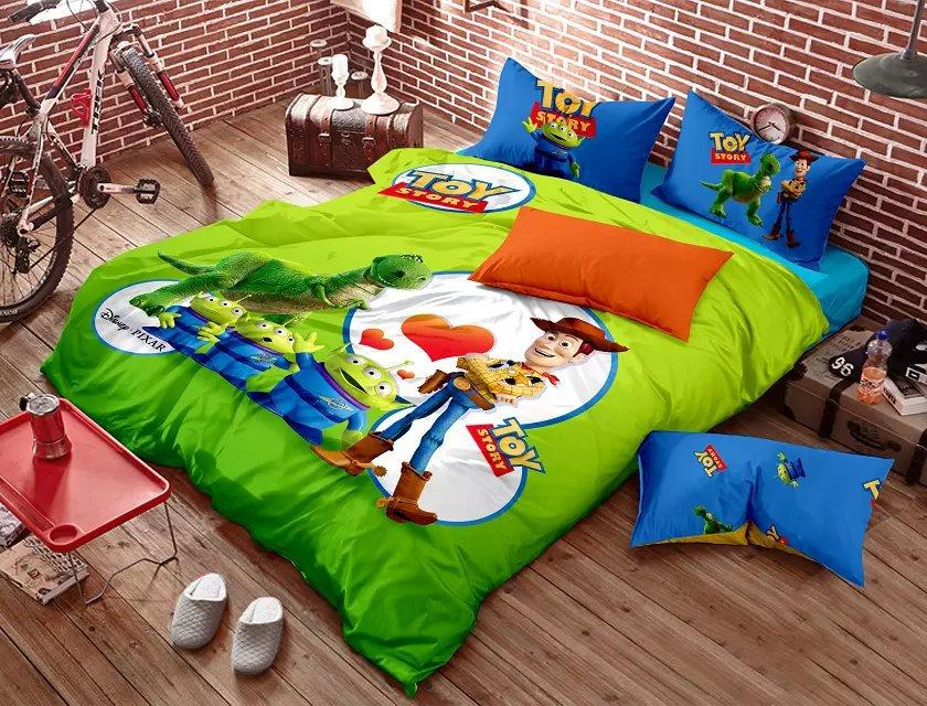 Toy Story Kids Bedding Set Cartoon Queen Size Quilt Doona Duvet ... : toy story quilt cover set - Adamdwight.com