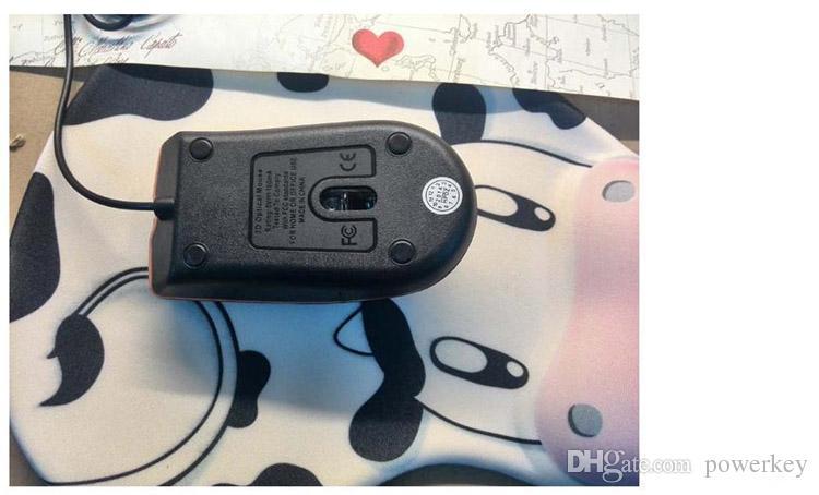 Ratón óptico USB Mini 3D con cable Gaming Mice con caja al por menor para el ordenador portátil Notebook Juego Lenovo M20 Fedex DHL