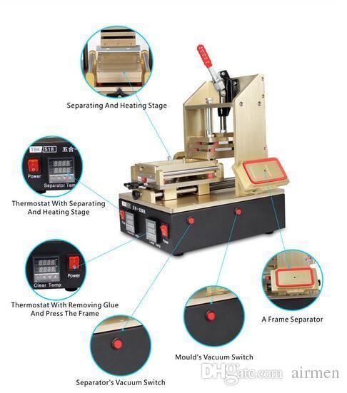 TBK 5 in 1 frame machine, Screen Separator Machine, LCD Screen Separator 4 / 4S 5 / 5S / 5C 6 / 6plus