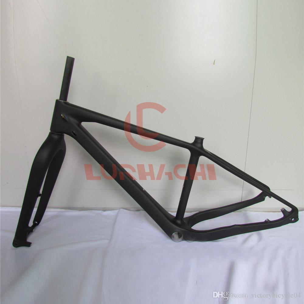 Wt N019 Thru Axles Fat Bike Frame,Full Carbon Fiber Frame, Frame+ ...