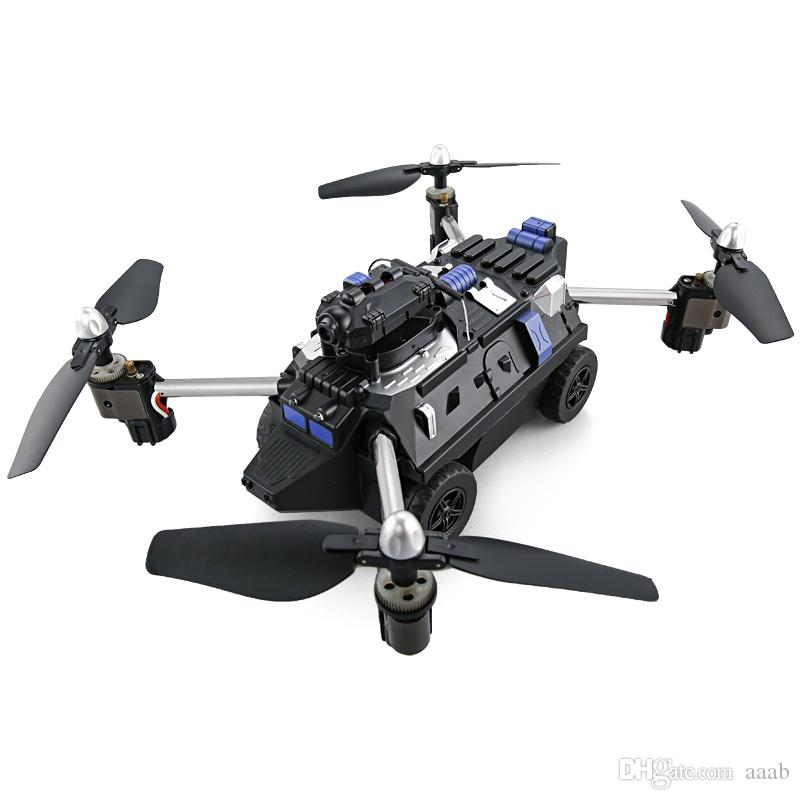 2017 New Arrival JJRC H40WH WIFI FPV With 720P HD Camera Altitude Air Land Ground Mode RC Quadcopter Car Drones Helicopter Toys