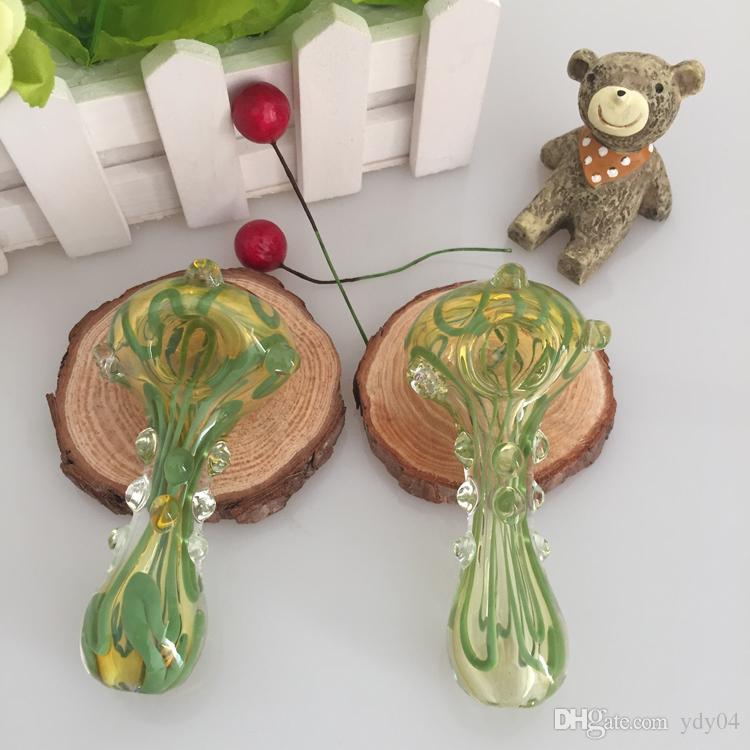 DHL Spedizione gratuita Produttore Produttore Smoking Glass Tubi NUOVA DESIGN PIETRA PIPI MANUALE TABACCO VAPorizer Herb Dry