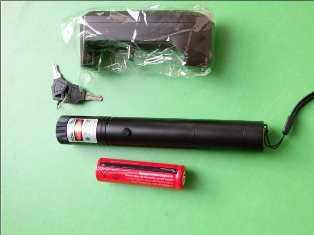 Promoción de precio de precio Punteros láser verde de alta potencia de 532 nm SOS LAZER led Linternas 10 Millas LAZER más potente + cargador + caja de venta al por menor + llave segura