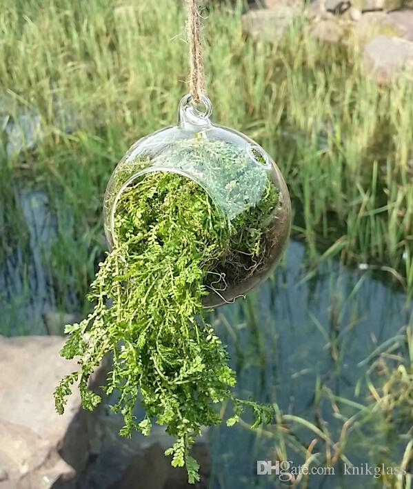 / set Orb Terrarium, Luft Pflanze Terrarium, hängenden Globus Kerzenhalter - Hochzeit oder Home Decor