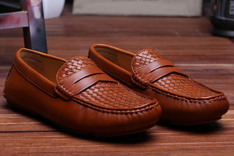 Fashion Mens Leather Woven Loafer Dress Shoe Brown Casual Shoe Brand New In Box Size 38 44 Blue Shoes Clogs For Women From Baiyu168 $120.61| Dhgate.Com & Fashion Mens Leather Woven Loafer Dress Shoe Brown Casual Shoe ... Aboutintivar.Com