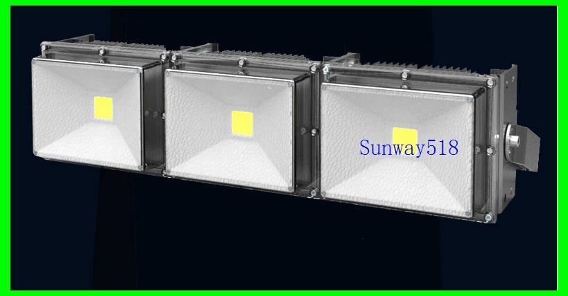 2017 Led Floodlight 85-265V 50W 100W 150W 200W Outdoor COB LED Flood light lamp waterproof Tunnel lights street lighting