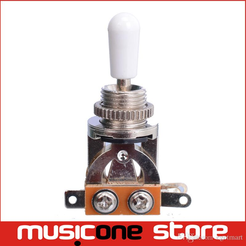 2018 Chrome 3 Way Electric Guitar Pickup Toggle Switch Selector ...