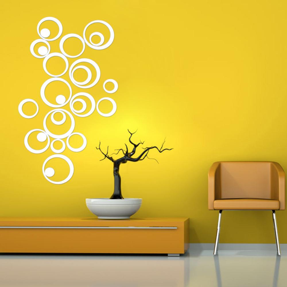 Wall Stickers Mirror - Wall decals mirror