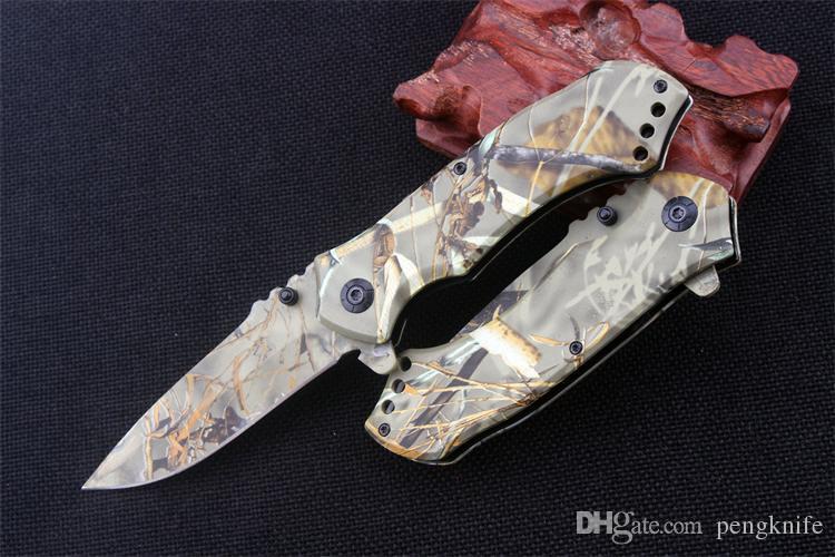 HOT JEF Mini version outdoor folding knives Multi-function tactical camping survival folding knife 3cr13 blade Aluminium handle