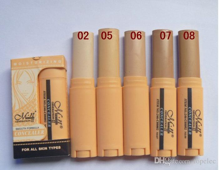 5 가지 컬러 프로페셔널은 블레미쉬 크림 컨실러 스틱 커버 언더 아이 다크 서클 페이스 하이라이트 크림 컨투어 파운데이션 무료 DHL 6960