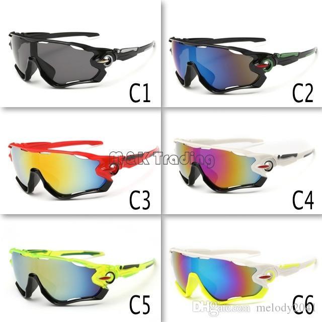 904fe4a53c Cheap Sport Sunglasses Colorful Cycling Goggles Men Sun Eyewear UV400  Protection Goggles Lenses Wholesale Eyewear Jawbreaker Sunglasses Sports  Sunglasses ...