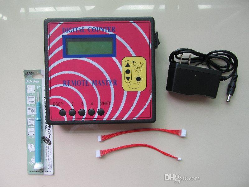 auto High quality Remote Control Copy tool DIGITAL COUNTER REMOTE MASTER Key copy machine